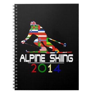 2014 Esquí alpino Libretas
