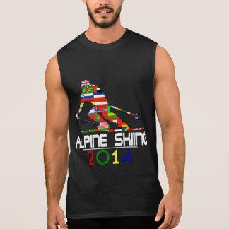 2014: Esquí alpino Camisetas