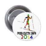 2014: Esquí de fondo Pins