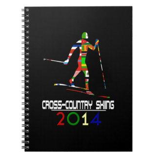 2014 Esquí del campo a través Libretas
