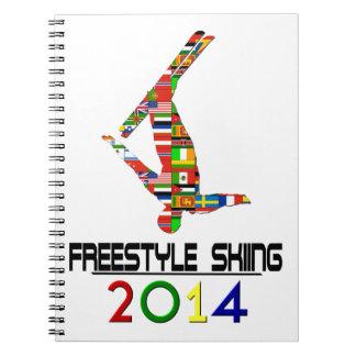 2014 Esquí del estilo libre Libros De Apuntes