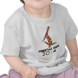 2014 Esquí del estilo libre Camisetas