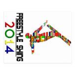 2014: Esquí del estilo libre Tarjetas Postales
