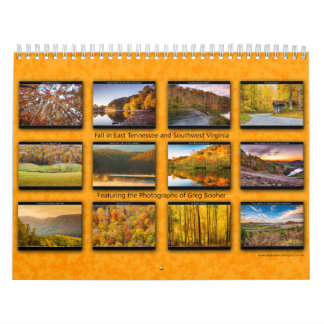 2014 Fall in East Tennessee and Southwest Virginia Calendar