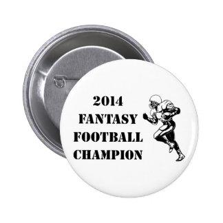 2014 Fantasy Football Champion 2 2 Inch Round Button