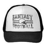 2014 Fantasy Football Champion Helmet Champ Washed Trucker Hats