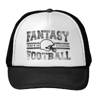 2014 Fantasy Football Champion Helmet Champ Washed Trucker Hat