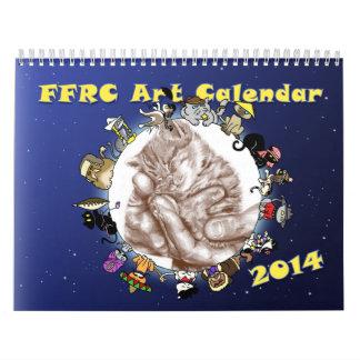 2014 FFRC Art Calendar