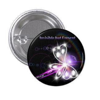 2014 Fibromyalgia Awareness Butterfly Button