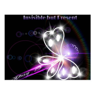2014 Fibromyalgia Awareness Butterfly Postcard