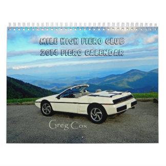2014 Fiero Calendar MHFC