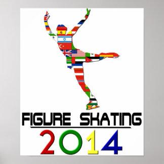 2014: Figure Skating Poster
