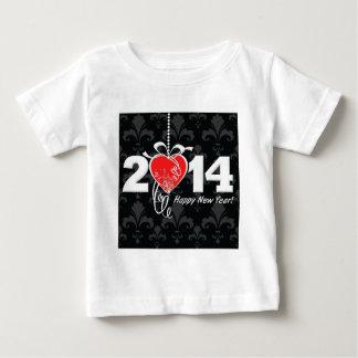2014 Fleur de lis New Year Design Baby T-Shirt