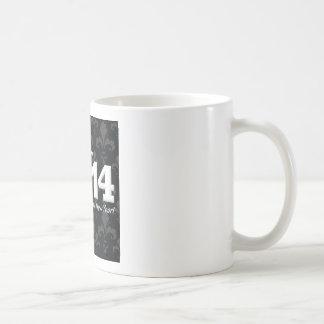 2014 Fleur de lis New Year Design Coffee Mug
