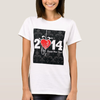 2014 Fleur de lis New Year Design T-Shirt