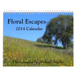 2014 Flower Calendar