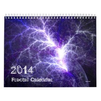2014 Fractal Art Calendar Wall Calendar
