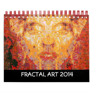 2014  FRACTAL ART COLLECTION CALENDAR