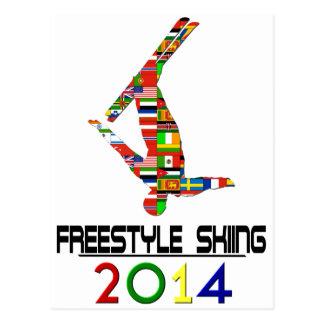 2014: Freestyle Skiing Postcard