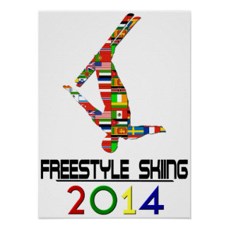 2014: Freestyle Skiing Poster