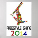 2014: Freestyle Skiing Print