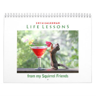 2014 Funny Squirrel Calendar