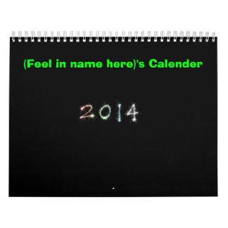 2014 garras y tolerancia de las patas n del calendario