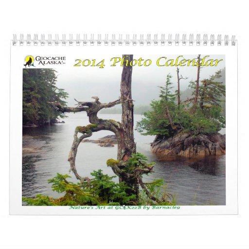 2014 GeocacheAlaska! Photo Calendar