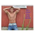 2014 Global Guys hunk calendar