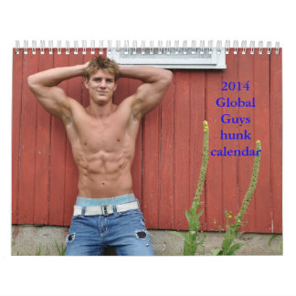 2014 Global Guys hunk calendar