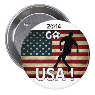 2014 Go USA! Button