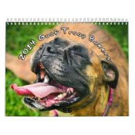 2014 Goof Troop Boxer Calendar