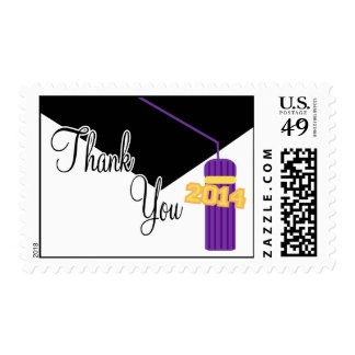 2014 gracias casquillo y la borla púrpuras de la envio