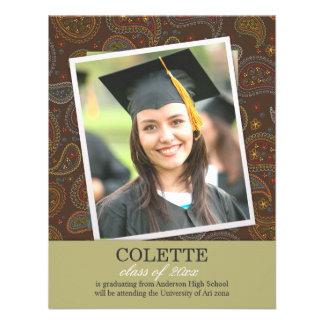 2014 Graduation Photo Paisleys Flat Announcement