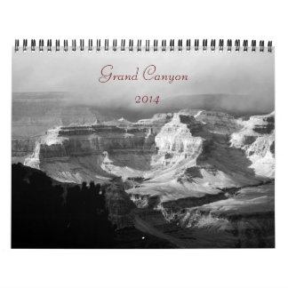 2014 Grand Canyon B/W Photograph Calendar