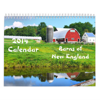 2014 graneros de Nueva Inglaterra - 2 Calendarios