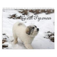 2014 Great Pyrenees Puppy Calendar