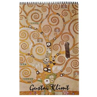 2014 Gustav Klimt, Vintage Art Nouveau Wall Calendar
