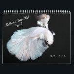 """2014 Halfmoon Betta fish calendar<br><div class=""""desc"""">Halfmoon betta fish calendar by Karen Mac Auley</div>"""