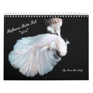 2014 Halfmoon Betta fish calendar