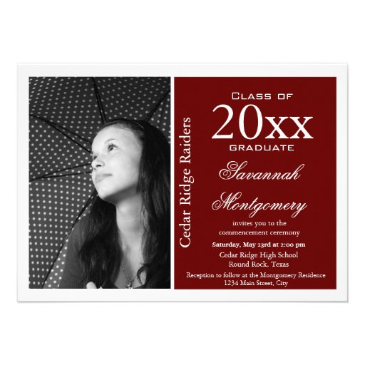 College Graduation Party Invitations Template Best Template