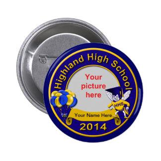 2014 Highland High Graduation Guest Keepsake Pin