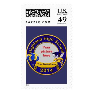 2014 Highland High Graduation Postage Stamps
