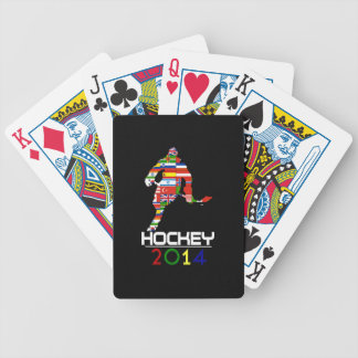 2014: Hockey Bicycle Playing Cards