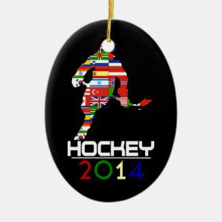 2014: Hockey Ornamentos De Reyes Magos