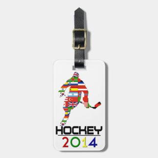 2014: Hockey Luggage Tag