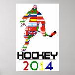 2014: Hockey Posters