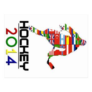 2014: Hockey Tarjetas Postales