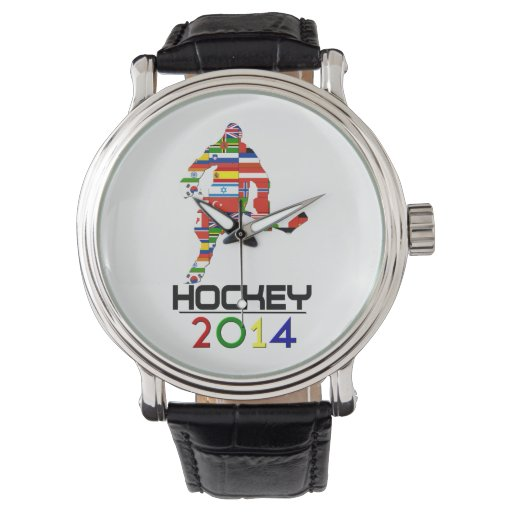 2014: Hockey Wrist Watches