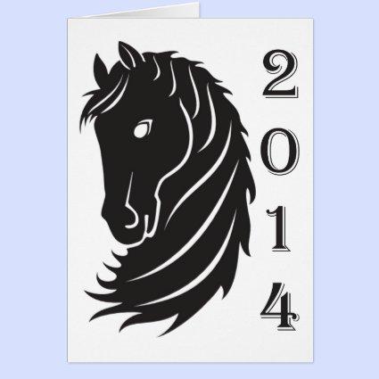 2014 Horse Head Card